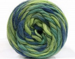 Fiber Content 100% Wool, Brand ICE, Green Shades, Blue Shades, Yarn Thickness 6 SuperBulky  Bulky, Roving, fnt2-55558