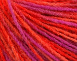 Fiber Content 100% Acrylic, Pink, Orange, Brand ICE, Fuchsia, Yarn Thickness 3 Light  DK, Light, Worsted, fnt2-55610