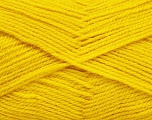 Fiber Content 100% Acrylic, Brand ICE, Dark Yellow, Yarn Thickness 3 Light  DK, Light, Worsted, fnt2-56566