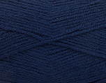 Fiber Content 100% Acrylic, Navy, Brand ICE, Yarn Thickness 3 Light  DK, Light, Worsted, fnt2-56570