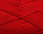 Fiber Content 50% Bamboo, 50% Acrylic, Red, Brand ICE, Yarn Thickness 2 Fine  Sport, Baby, fnt2-56580