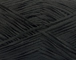 Fiber Content 100% Acrylic, Brand ICE, Black, Yarn Thickness 2 Fine  Sport, Baby, fnt2-56705