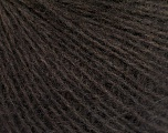 Fiber Content 50% Acrylic, 30% Mohair, 20% Wool, Brand ICE, Brown, fnt2-56823