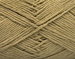 Please note that the yarn weight and the ball length may vary from one color to another for this yarn. Fiber Content 100% Cotton, Light Khaki, Brand ICE, Yarn Thickness 3 Light  DK, Light, Worsted, fnt2-57160