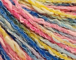 Fiber Content 50% Acrylic, 50% Cotton, Pink Shades, Brand ICE, Gold, Blue Shades, Yarn Thickness 4 Medium  Worsted, Afghan, Aran, fnt2-57287