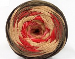 Fiber Content 50% Acrylic, 50% Cotton, Salmon, Pink, Brand ICE, Camel, Brown, Beige, Yarn Thickness 2 Fine  Sport, Baby, fnt2-57333