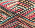 Fiber Content 100% Acrylic, Yellow, Salmon, Pink, Mint Green, Brand ICE, Grey, Yarn Thickness 2 Fine  Sport, Baby, fnt2-57352