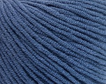 Fiber Content 50% Acrylic, 50% Cotton, Brand ICE, Blue, Yarn Thickness 3 Light  DK, Light, Worsted, fnt2-57441