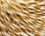 Fiber Content 70% Acrylic, 30% Wool, White, Light Brown, Brand ICE, fnt2-57530