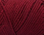 Items made with this yarn are machine washable & dryable. Fiber Content 100% Acrylic, Brand ICE, Burgundy, Yarn Thickness 4 Medium  Worsted, Afghan, Aran, fnt2-57615