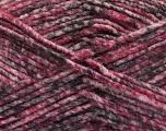 Fiber Content 70% Acrylic, 30% Wool, White, Pink Shades, Brand ICE, Grey, Yarn Thickness 4 Medium  Worsted, Afghan, Aran, fnt2-57644