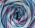 Fiber Content 100% Acrylic, White, Orchid, Brand ICE, Blue Shades, fnt2-57748