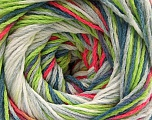 Fiber Content 100% Acrylic, White, Neon Pink, Neon Green, Jeans Blue, Brand ICE, Grey, fnt2-57755