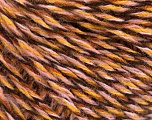 Fiber Content 50% Acrylic, 50% Wool, Pink, Brand ICE, Gold, Brown, fnt2-57865