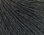 Fiber Content 50% Wool, 50% Acrylic, Brand ICE, Anthracite Black, Yarn Thickness 3 Light  DK, Light, Worsted, fnt2-57899