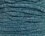 Make handbags,rugs,basket and cushion covers with this genius new-fashion yarn!<p>Since the yarn is made by upcycling fabrics, and because of the nature of the yarn; take the following notes into consideration. </p><ul><li>Width vary between 0,8 cm and 1,2 cm</li><li>Fiber content information may vary. Information given about fiber content is approximate. </li><li>The yardage and weight information of the yarn is approximate. </li></ul> Fiber Content 95% Cotton, 5% Elastan, Turquoise, Brand ICE, Yarn Thickness 6 SuperBulky  Bulky, Roving, fnt2-57958