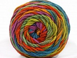 Fiber Content 100% Acrylic, Lilac, Brand ICE, Green Shades, Copper, Blue, Yarn Thickness 4 Medium  Worsted, Afghan, Aran, fnt2-58136