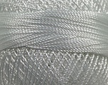 Fiber Content 100% Micro Fiber, Brand YarnArt, White, Yarn Thickness 0 Lace  Fingering Crochet Thread, fnt2-17304