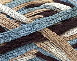 A beautiful new scarf yarn. One ball is enough to make a beautiful scarf. Knitting instructions are included! Fiber Content 100% Acrylic, Brand ICE, Grey, Camel, Brown, Yarn Thickness 6 SuperBulky  Bulky, Roving, fnt2-21361