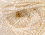 Width is 3 mm Fiber Content 100% Polyester, Yarn Thickness Other, Brand ICE, Cream, fnt2-21641