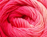 Fiber Content 100% Acrylic, Pink Shades, Brand Ice Yarns, Yarn Thickness 3 Light  DK, Light, Worsted, fnt2-22021