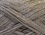 A beautiful new scarf yarn. One ball is enough to make a beautiful scarf. Knitting instructions are included! Fiber Content 95% Acrylic, 5% Lurex, Silver, Brand ICE, Grey, Yarn Thickness 6 SuperBulky  Bulky, Roving, fnt2-22305