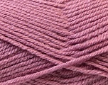 Fiber Content 100% Acrylic, Rose Pink, Brand ICE, Yarn Thickness 3 Light  DK, Light, Worsted, fnt2-22420
