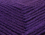 Fiber Content 100% Acrylic, Purple, Brand ICE, Yarn Thickness 3 Light  DK, Light, Worsted, fnt2-22422