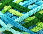 Fiber Content 100% Acrylic, Brand ICE, Green Shades, Blue Shades, Yarn Thickness 6 SuperBulky  Bulky, Roving, fnt2-22889