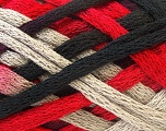 Fiber Content 100% Acrylic, Red, Brand ICE, Grey, Black, Yarn Thickness 6 SuperBulky  Bulky, Roving, fnt2-22900