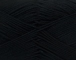 Fiber Content 100% Mercerised Cotton, Brand Ice Yarns, Black, Yarn Thickness 2 Fine  Sport, Baby, fnt2-23321