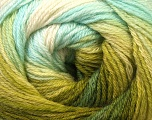 Fiber Content 60% Acrylic, 40% Merino Wool, Turquoise, Brand ICE, Green Shades, Yarn Thickness 2 Fine  Sport, Baby, fnt2-23431