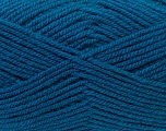 Worsted  Fiber Content 100% Acrylic, Teal, Brand ICE, Yarn Thickness 4 Medium  Worsted, Afghan, Aran, fnt2-23741