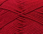 Fiber Content 100% Mercerised Cotton, Brand Ice Yarns, Burgundy, Yarn Thickness 2 Fine  Sport, Baby, fnt2-23953