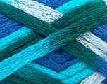 Fiber Content 100% Acrylic, Turquoise, Teal, Purple, Lilac, Brand ICE, Yarn Thickness 6 SuperBulky  Bulky, Roving, fnt2-24204