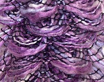 Fiber Content 90% Acrylic, 10% Polyester, Purple, Orchid, Lilac, Brand ICE, Yarn Thickness 6 SuperBulky  Bulky, Roving, fnt2-24205