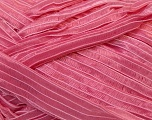 Width of the ribbon is 1.75 cm (5/8 inches) Fiber Content 100% Polyamide, Pink, Brand ICE, fnt2-24435
