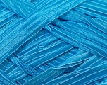 Width of the ribbon is 1.75 cm (5/8 inches) Fiber Content 100% Polyamide, Yarn Thickness Other, Brand Ice Yarns, Blue, fnt2-24436