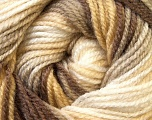 Fiber Content 100% Premium Acrylic, White, Brand Ice Yarns, Cream, Camel, Brown, Yarn Thickness 3 Light  DK, Light, Worsted, fnt2-24557