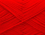 Fiber Content 100% Acrylic, Red, Brand ICE, Yarn Thickness 2 Fine  Sport, Baby, fnt2-25527
