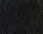 Trellis  Composition 95% Polyester, 5% Lurex, Brand Ice Yarns, Black, Yarn Thickness 5 Bulky  Chunky, Craft, Rug, fnt2-25700