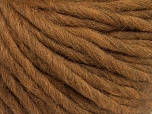 Fiber Content 100% Australian Wool, Brand ICE, Brown, Yarn Thickness 6 SuperBulky  Bulky, Roving, fnt2-26155