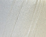 Fiber Content 50% Viscose, 50% Linen, White, Brand ICE, Yarn Thickness 2 Fine  Sport, Baby, fnt2-27248