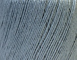 Fiber Content 50% Viscose, 50% Linen, Light Grey, Brand ICE, Yarn Thickness 2 Fine  Sport, Baby, fnt2-27255