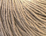 Fiber Content 50% Acrylic, 50% Cotton, Brand ICE, Beige, Yarn Thickness 3 Light  DK, Light, Worsted, fnt2-27353