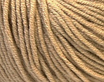 Fiber Content 50% Acrylic, 50% Cotton, Light Brown, Brand ICE, Yarn Thickness 3 Light  DK, Light, Worsted, fnt2-27354