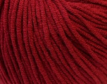 Fiber Content 50% Acrylic, 50% Cotton, Brand ICE, Burgundy, Yarn Thickness 3 Light  DK, Light, Worsted, fnt2-27359