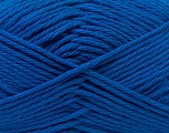 Baby cotton is a 100% premium giza cotton yarn exclusively made as a baby yarn. It is anti-bacterial and machine washable! Fiber Content 100% Giza Cotton, Brand ICE, Blue, Yarn Thickness 3 Light  DK, Light, Worsted, fnt2-27897