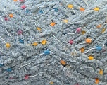 Fiber Content 85% Micro Fiber, 15% Polyamide, Brand ICE, Grey, Yarn Thickness 5 Bulky  Chunky, Craft, Rug, fnt2-32476