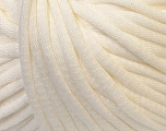 This is a tube-like yarn with soft cotton fleece filled inside. Fiber Content 70% Cotton, 30% Polyester, Brand Ice Yarns, Cream, Yarn Thickness 5 Bulky  Chunky, Craft, Rug, fnt2-32488